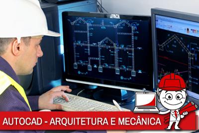 MECÂNICA E ARQUITETURA COM AUTOCAD 2D/3D